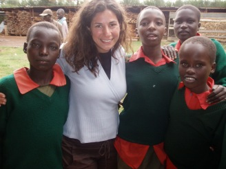 In Kenya, filming The Music Lesson